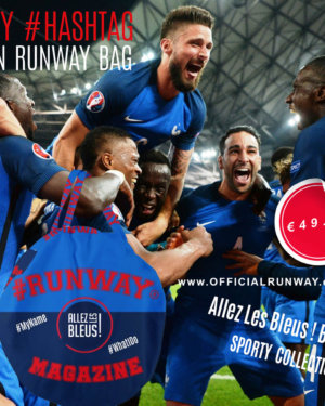 Allez Les Bleus - My Hashtag on Runway Bag - Sporty Collection