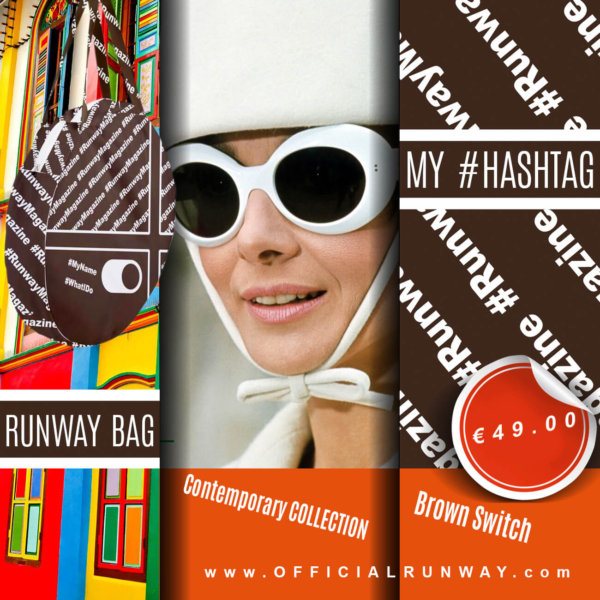 Brown Switch - My Hashtag on Runway Bag - Contemporary Collection