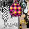 My Hashtag on Runway Bag - Blocky Collection - Sand Bag